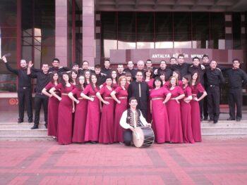 City mixed choir Gortinija